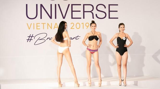Thí sinh Hoa hậu Hoàn vũ Việt Nam 2019 vòng sơ khảo khu vực phía Nam đẹp lộng lẫy trong màn thi bikini
