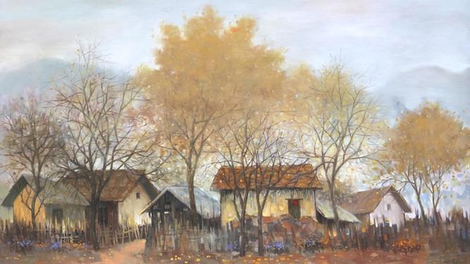 Tranh của họa sĩ Nguyễn Văn Đức