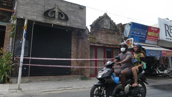 Quán bar Buddha quận 2 hiện đang đóng cửa thực hiện phòng, chống COVID-19 (Ảnh: T.T.D)