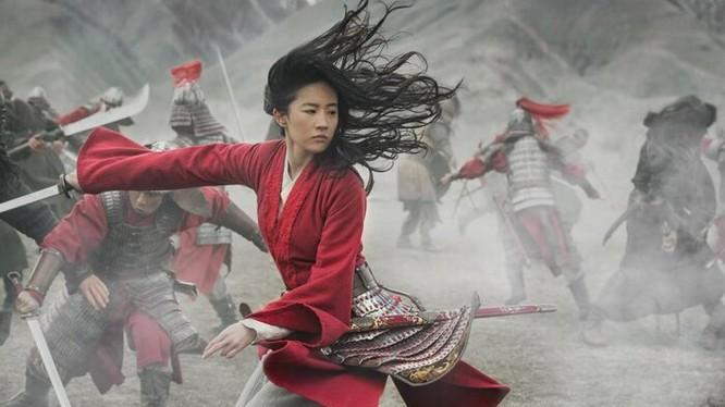 """Ngôi sao của làng điện ảnh Hoa ngữ Lưu Diệc Phi thủ vai chính trong """"Mulan"""" (Ảnh: Disney)"""