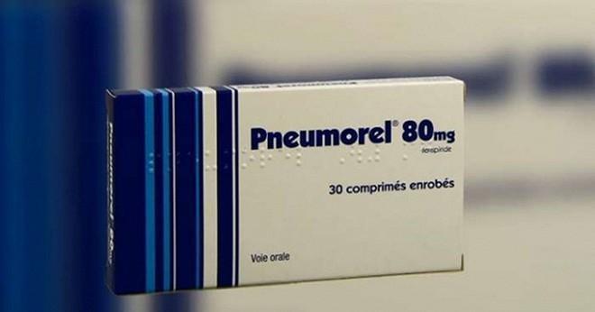 Hồi năm ngoái, Cục Quản lý Dược cũng đã thu hồi thuốc Pneumoel (chứa hoạt chất Fenspiride hydrochloride) do có nguy cơ gây rối loạn nhịp tim cho người sử dụng (Ảnh: BYT)