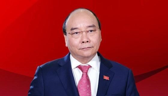 Chủ tịch nước Nguyễn Xuân Phúc ứng cử đại biểu Quốc hội khóa XV tại TP.HCM - Ảnh: Chính phủ