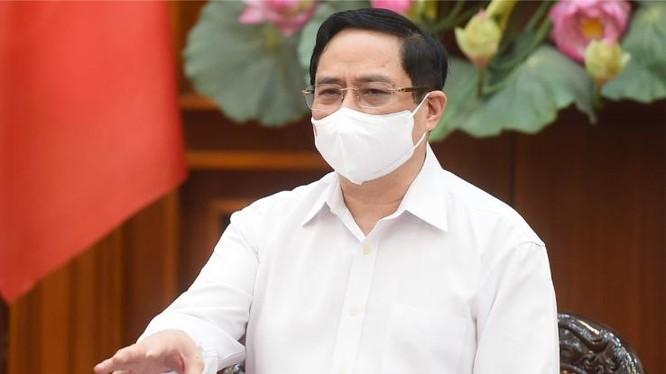 Thủ tướng Phạm Minh Chính đề nghị làm rõ trách nhiệm và xử lý nghiêm việc gây ra dịch bệnh ở Hà Nam - Ảnh: Chinhphu.vn