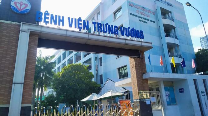 Bệnh viện Trưng Vương có 1 điều dưỡng nhận kết quả dương tính với COVID-19 (Ảnh: BYT)