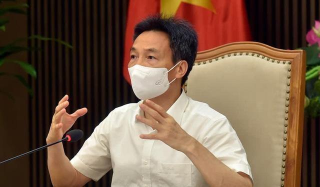 Phó Thủ tướng Vũ Đức Đam chỉ đạo cuộc họp về phòng chống dịch COVID-19. Ảnh: Tiền Phong