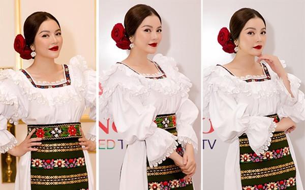Lý Nhã Kỳ đẹp mũm mĩm như cô gái Romania