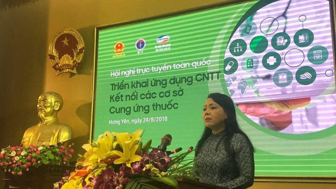 Bộ Trưởng Y tế Nguyễn Thị Kim Tiến (ảnh: VGP/Thúy Hà)