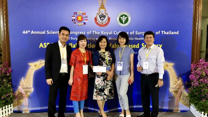 Đoàn bác sĩ Việt Nam tham gia Hội nghị tổ chức tại Thái Lan từ 12/7 - 16/7