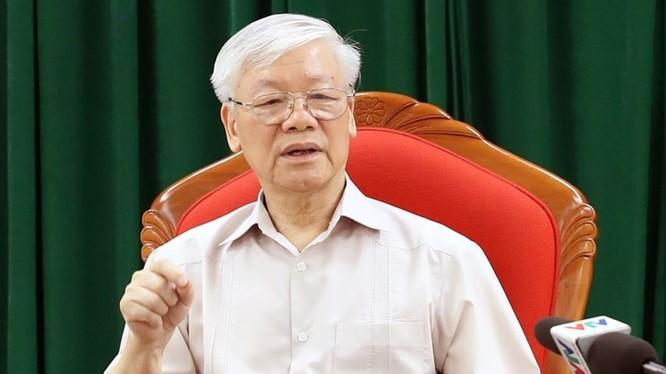 Tổng bí thư, Chủ tịch nước Nguyễn Phú Trọng (Ảnh: dangcongsan.vn)