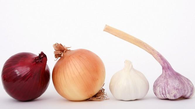 Hành và tỏi đã được chứng minh giúp chống lại ung thư vú hiệu quả.