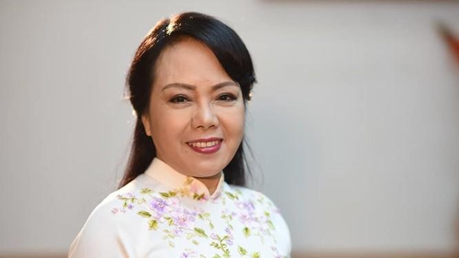 Bà Nguyễn Thị Kim Tiến - nữ Bộ trưởng duy nhất trong Chính phủ 2 nhiệm kỳ vừa qua.