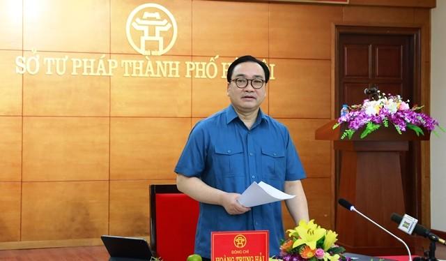 Ông Hoàng Trung Hải - Ủy viên Bộ Chính trị, Bí thư Thành ủy Hà Nội.