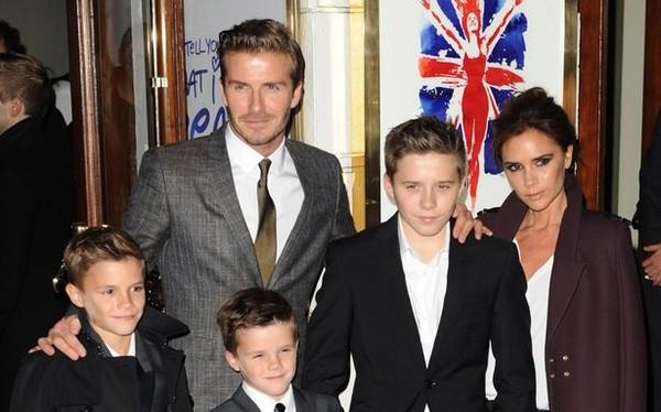 Beckham phát biểu trong buổi lễ trao giải thưởng của UNICEF