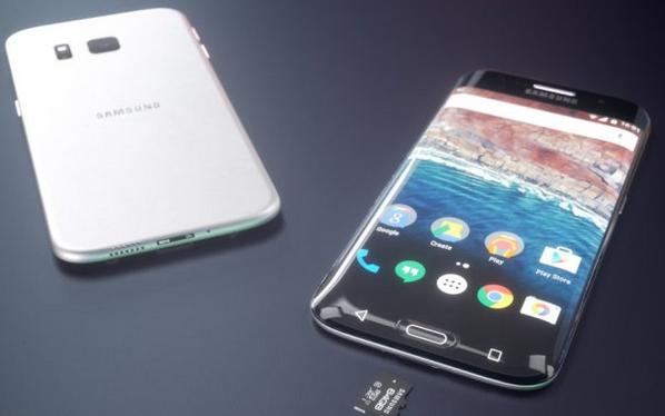 """Video: Bản dựng Galaxy S7 cong 4 cạnh đẹp """"khó cưỡng"""""""