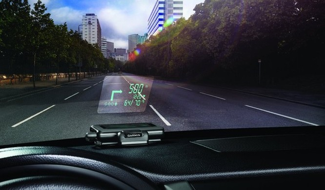Kính chắn gió của ô tô đồng thời là màn hình duyệt web