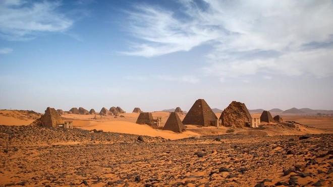 Kim tự tháp bị lãng quên ở Sudan