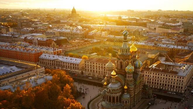 1. Nhà thờ Savior on Blood, Nga.