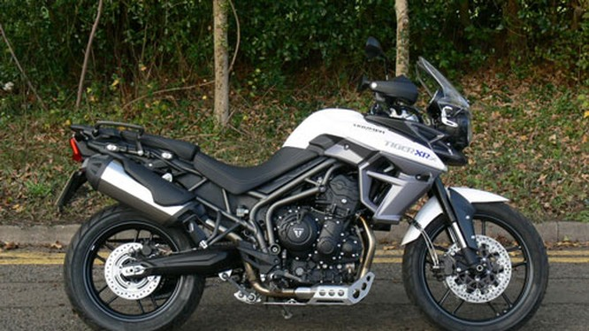 1. Triumph Tiger 800 XRx Low (760 mm).