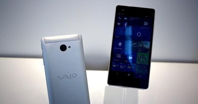 Smartphone của Vaio có tên Phone Biz