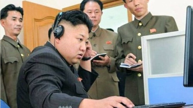 Theo một điều tra mới, tại Bắc Triều Tiên chỉ có 7.200 người sử dụng mạng Internet. (Ảnh: Secretchina)
