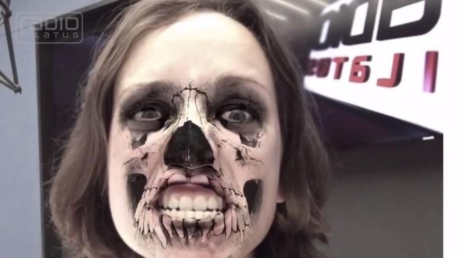 Cười ngất với ứng dụng selfie thực tế ảo MSQRD