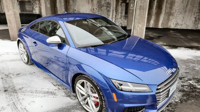 Cận cảnh Audi TTS 2016 giá 1,2 tỷ đồng