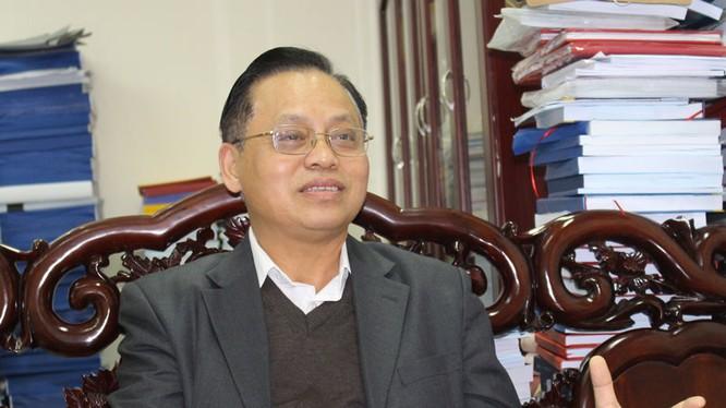 PGS. TS Lê Quốc Lý, Phó giám đốc Học viện CTQG HCM..
