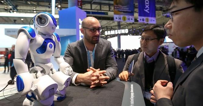 Robot của hãng IBM Watson.
