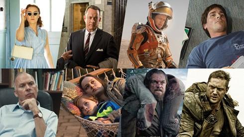 8 tác phẩm điện ảnh vào cuộc đua Oscar 2016