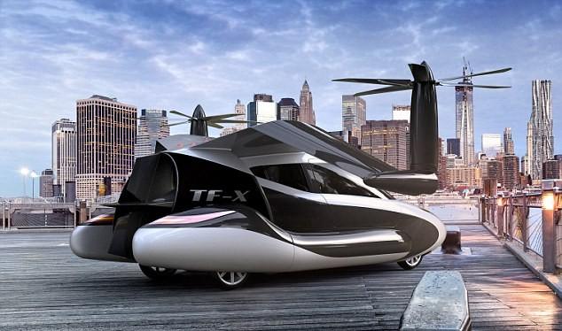 Video: Sắp ra mắt ôtô bay giá hơn 5 tỷ đồng