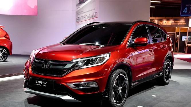 Các mẫu xe ăn khách cúa Honda bị triệu hồi. Ảnh minh họa: Internet