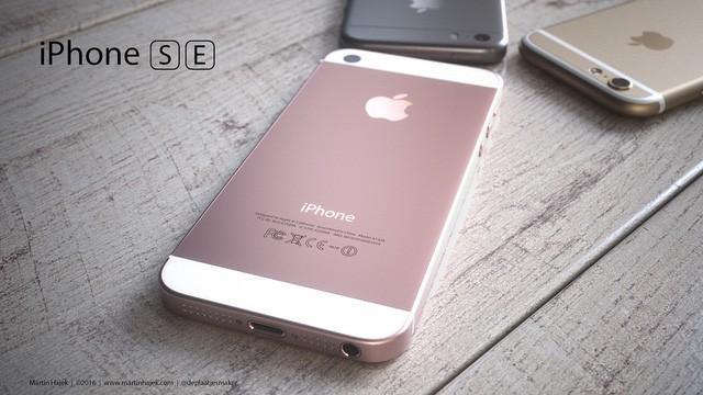 Ý tưởng model iPhone SE màn hình 4 inch mới nhất của Apple.