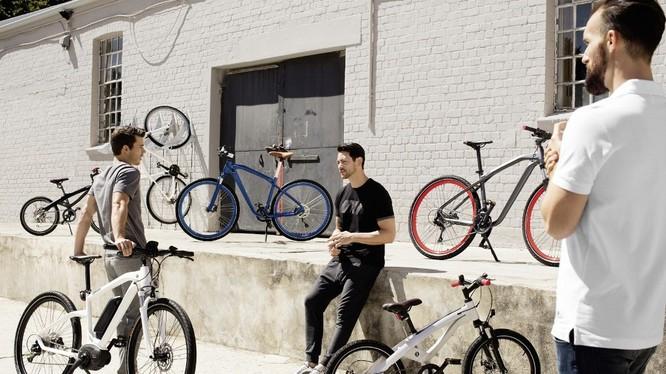 BMW ra mắt bộ sưu tập xe đạp độc đáo