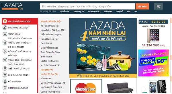 Đến lượt Lazada Việt Nam rao bán?