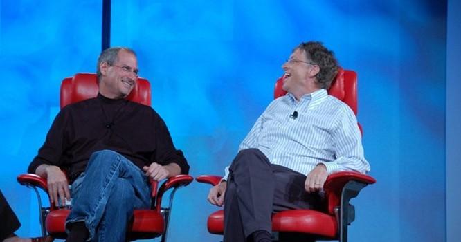 Bill Gates - Steve Jobs.