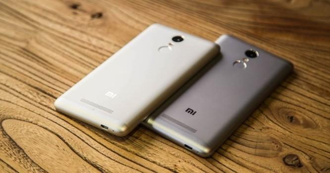 Mẫu điện thoại Xiaomi Redmi Note 3