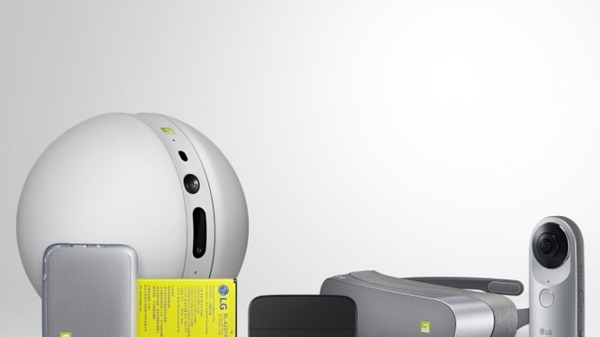 Video: Cận cảnh bộ phụ kiện siêu độc LG G5