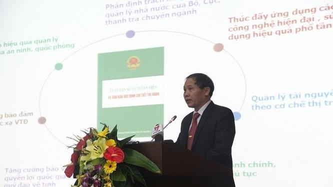 Ông Đoàn Quang Hoan, Cục trưởng Cục tần số vô tuyến điện.
