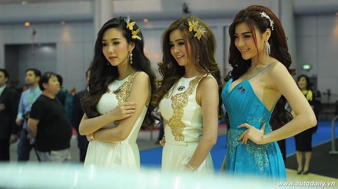 """Mãn nhãn với dàn mẫu """"nóng bỏng"""" tại Bangkok Motorshow 2016"""