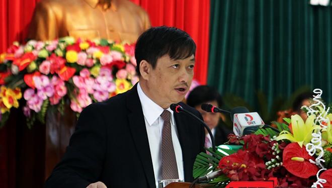 Ông Đặng Việt Dũng, Phó Chủ tịch UBND TP Đà Nẵng tại Kỳ họp thứ 17, HĐND TP Đà nẵng khóa VIII vừa diễn ra sáng nay 22-3.