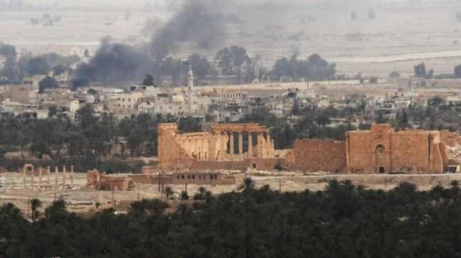 Quân đội Syria giải phóng toàn bộ Palmyra