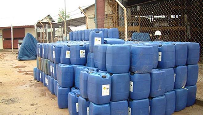Sở Công thương Quảng Nam vừa có văn bản kết luận 60 tấn Cyanua tại 2 công ty vàng thuộc tập đoàn Besra là giả.