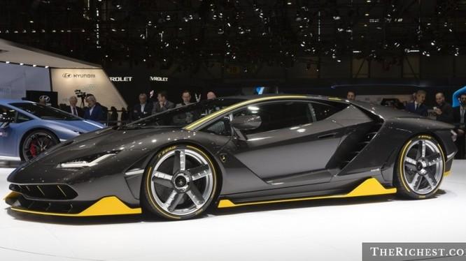 Ngắm siêu xe Lamborghini Centenario giá hơn 42 tỷ đồng