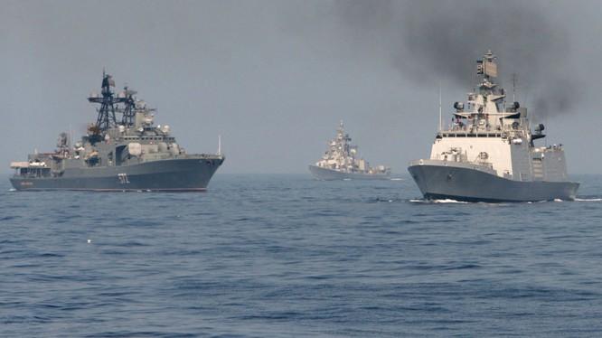 Hạm đội Thái Bình Dương của Nga sẽ tham gia tập trận ở Biển Đông