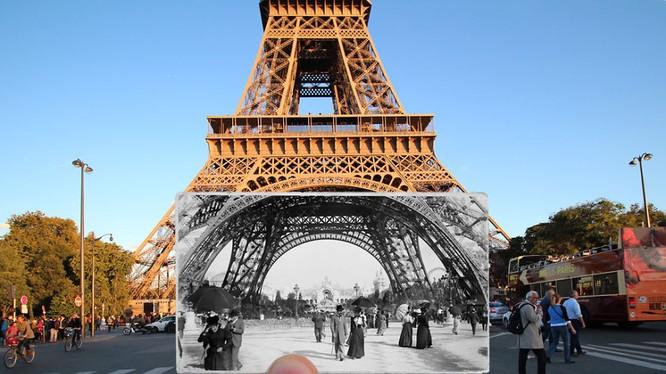 Paris xưa và nay qua những bức ảnh độc nhất