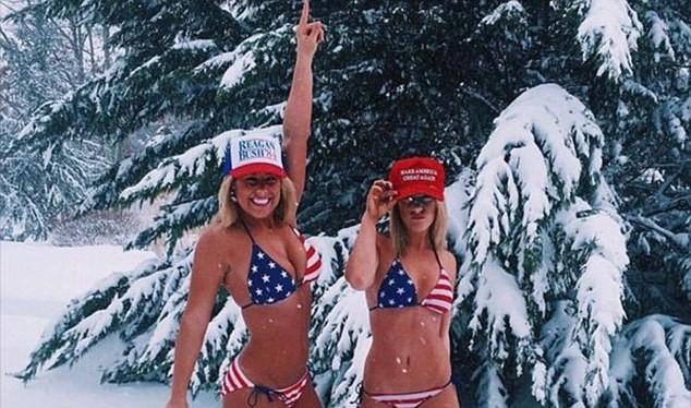 """Dàn hotgirl khoe thân gợi cảm ủng hộ """"tổng thống"""" Trump"""