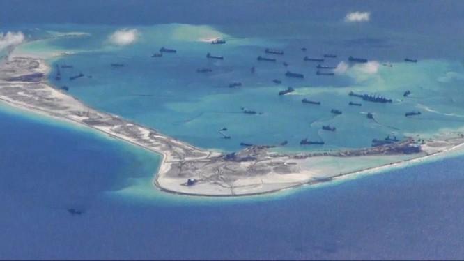 Trung Quốc xây xong hải đăng trên rạn san hô quần đảo Trường Sa