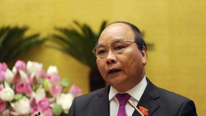 Bài phát biểu đầu tiên của tân Thủ tướng Nguyễn Xuân Phúc