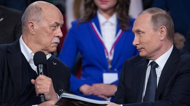 Ông Putin thổ lộ thích phim kinh điển