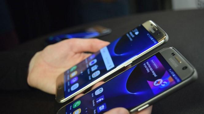 Galaxy S7 và S7 edge đóng góp lớn vào lợi nhuận của Samsung trong quý 1/2016 - Ảnh: AFP